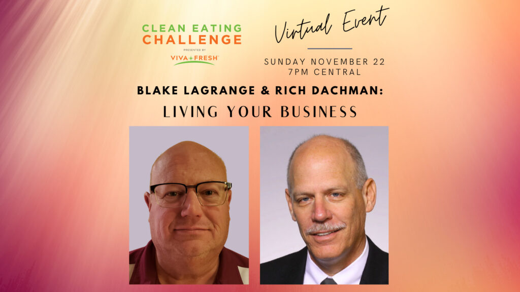 Live Clean Eating Event